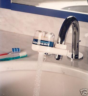 AQUASAN COMPACT Depuratore FILTRO ACQUA RUBINETTO - depurazione acqua