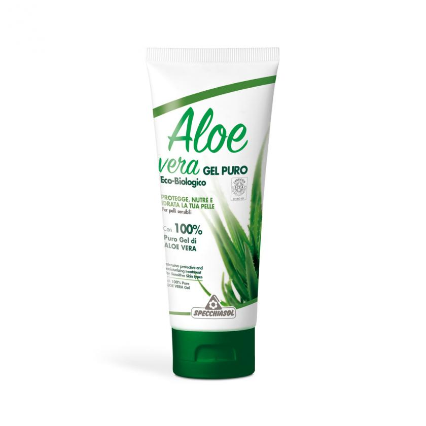 aloe vera gel puro 200 ml aloe specchiasol. Black Bedroom Furniture Sets. Home Design Ideas