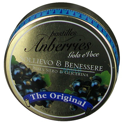 ANBERRIES RIBES E GLICERINA