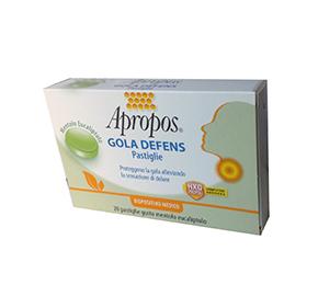 APROPOS Gola Defens Pastiglie Limone