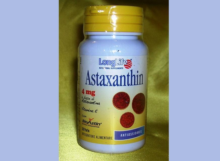 ASTAXANTHIN 4mg 30perle
