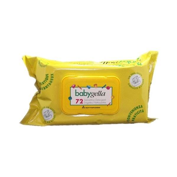 BABYGELLA - 72 SALVIETTE