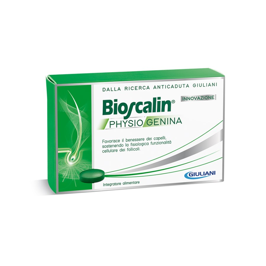BIOSCALIN Physiogenina integratori 30 compresse