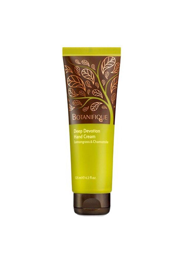 BOTANIFIQUE Deep Devotion Hand Cream Lemongrass & Chamomile 125ml