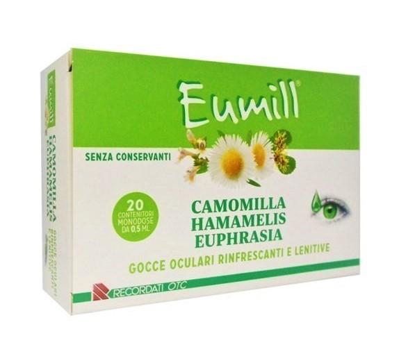 EUMILL CAMOMILLA AMAMELIDE EUPHRASIA, FL 10 ml