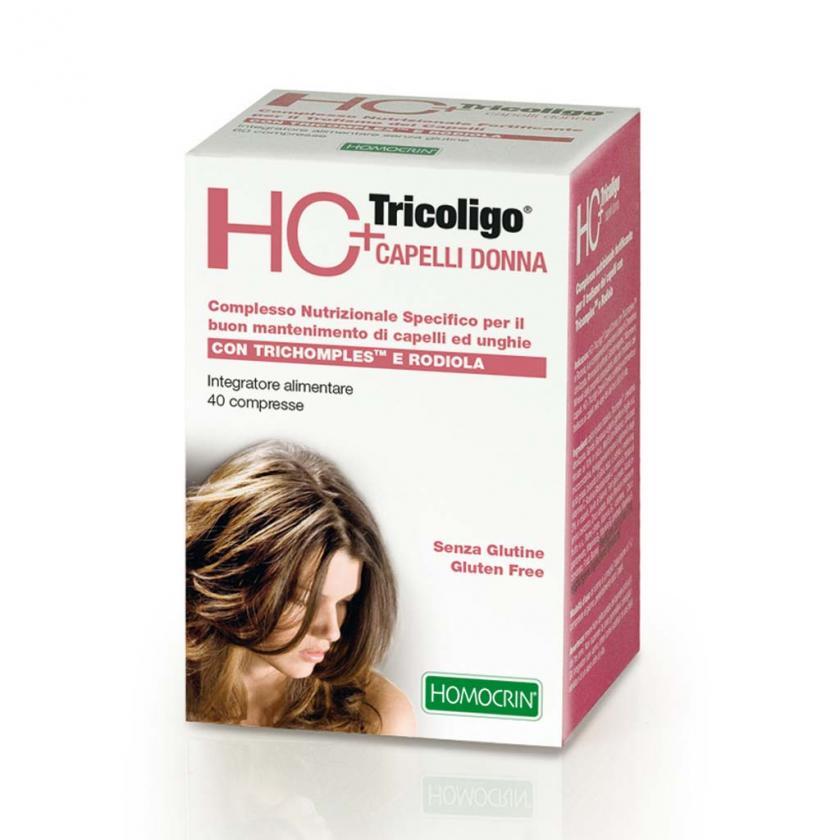 HC+TRICOLIGO capelli donna 40 compresse