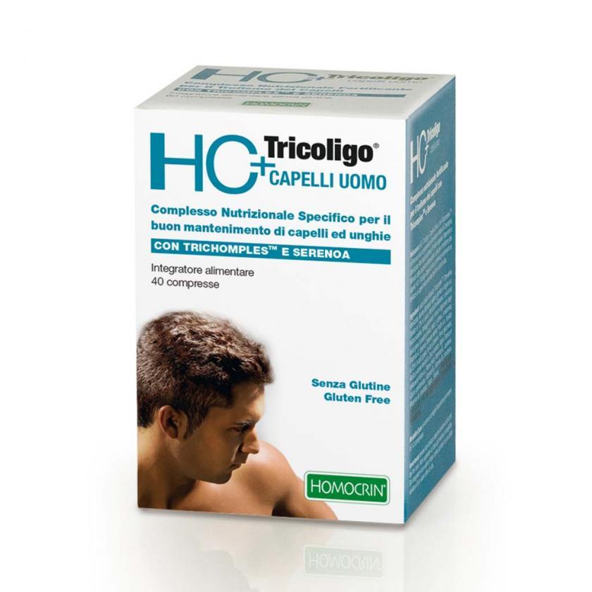 HC+TRICOLIGO capelli uomo 40 compresse