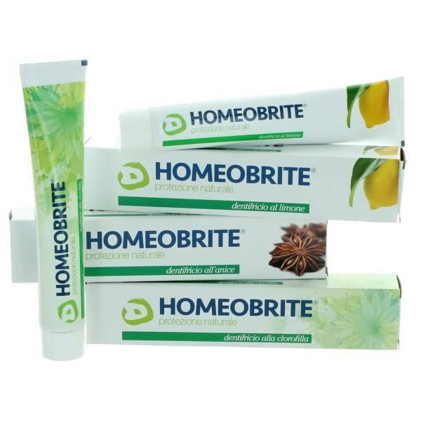HOMEOBRITE DENTIFRICIO LIMONE 75ml
