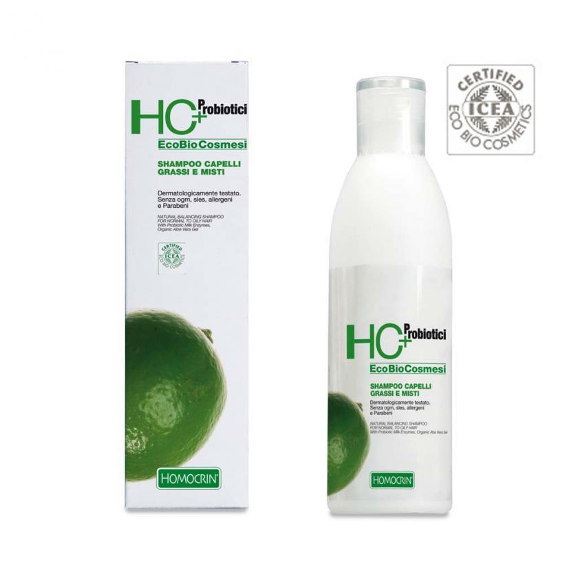 HOMOCRIN Shampoo capelli grassi e misti 250 ml