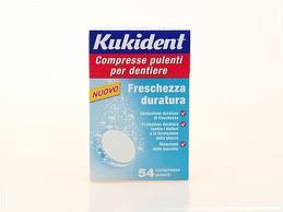 KUKIDENT FRESCHEZZA DURATURA 54 COMPRESSE PULENTI
