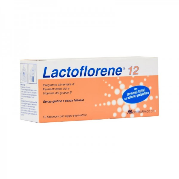 LACTOFLORENE PLUS 12 flaconcini