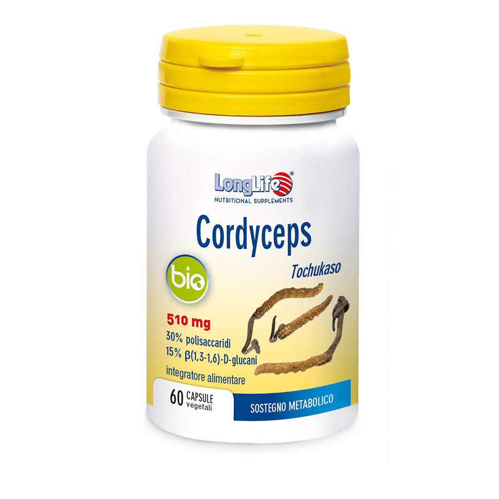 LONGLIFE CORDYCEPS BIO 60cps
