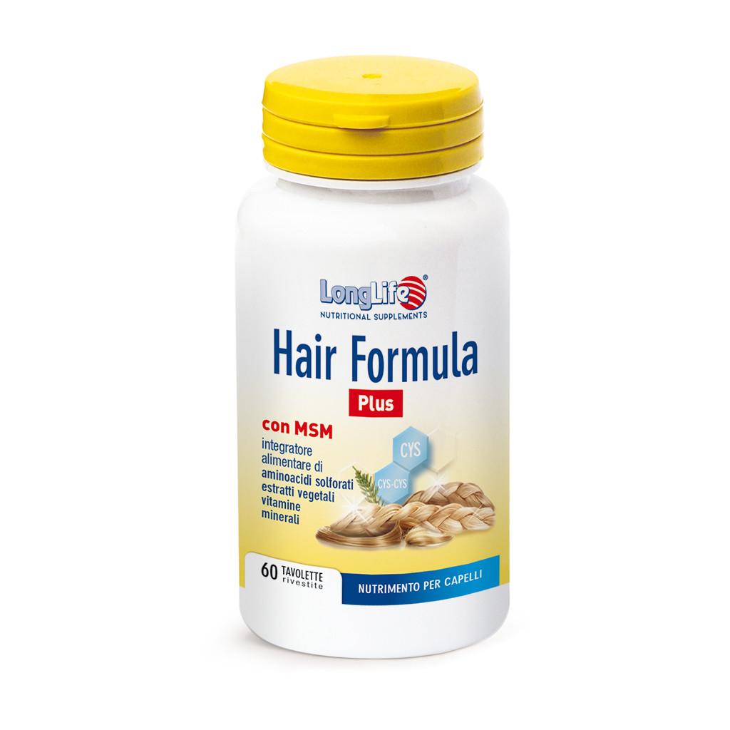 LONGLIFE HAIR FORMULA PLUS 60TAV