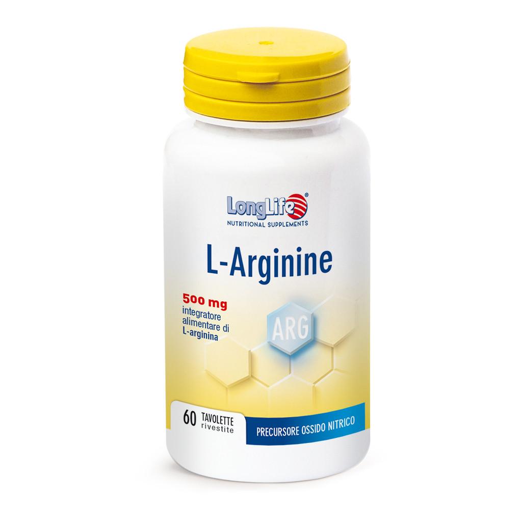LONGLIFE L-ARGININE 60TAV