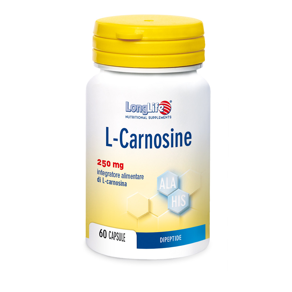 LONGLIFE L-CARNOSINE 60CPS