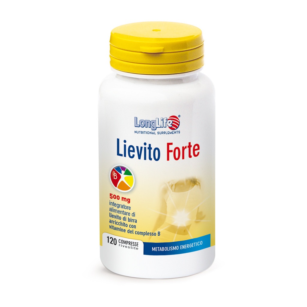 LONGLIFE LIEVITO FORTE 120CPR