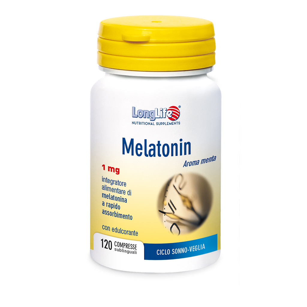 LONGLIFE MELATONIN 1MG 120CPR
