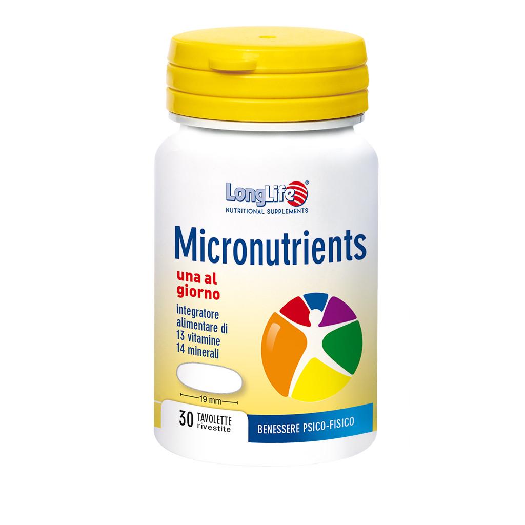 LONGLIFE MICRONUTRIENTS 30TAV