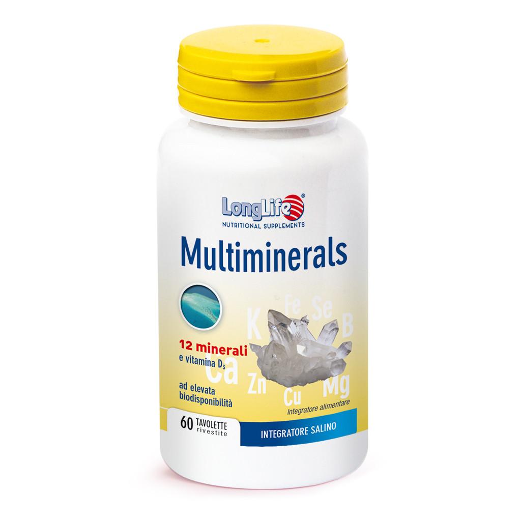 LONGLIFE MULTIMINERALS 60TAV