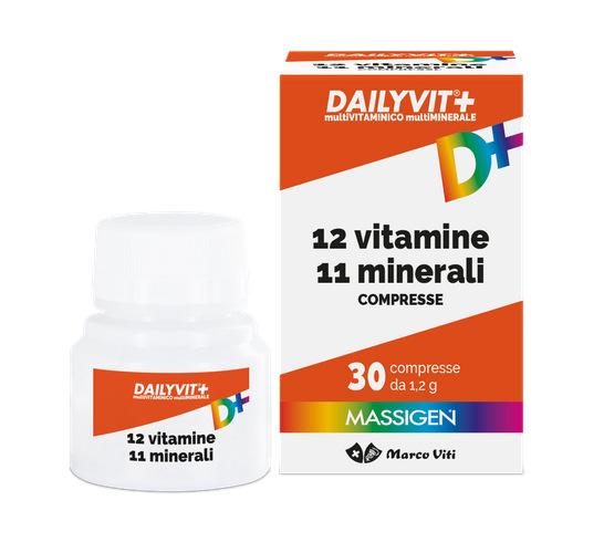 MASSIGEN DAYLIVIT+ 12 VITAMINE 11 MINERALI 60 cpr