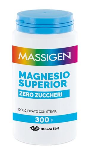 MASSIGEN MAGNESIO SUPERIOR ZERO ZUCCHERI 300g