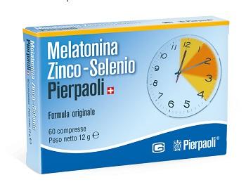 MELATONINA ZINCO-SELENIO PIERPAOLI 60 compresse