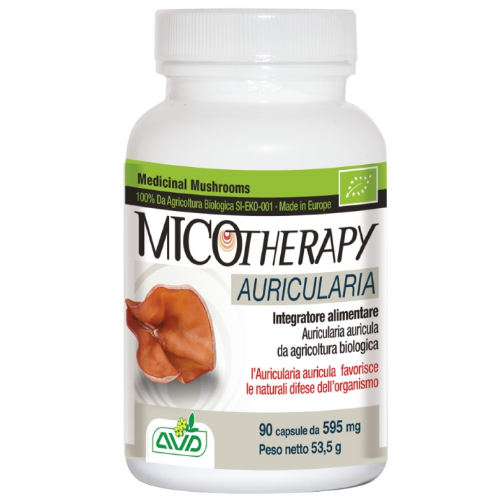 MICOTHERAPY auricularia 90 apsule