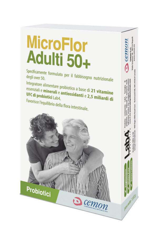 MICROFLOR ADULTI 50 30 CPS MASTICABILI