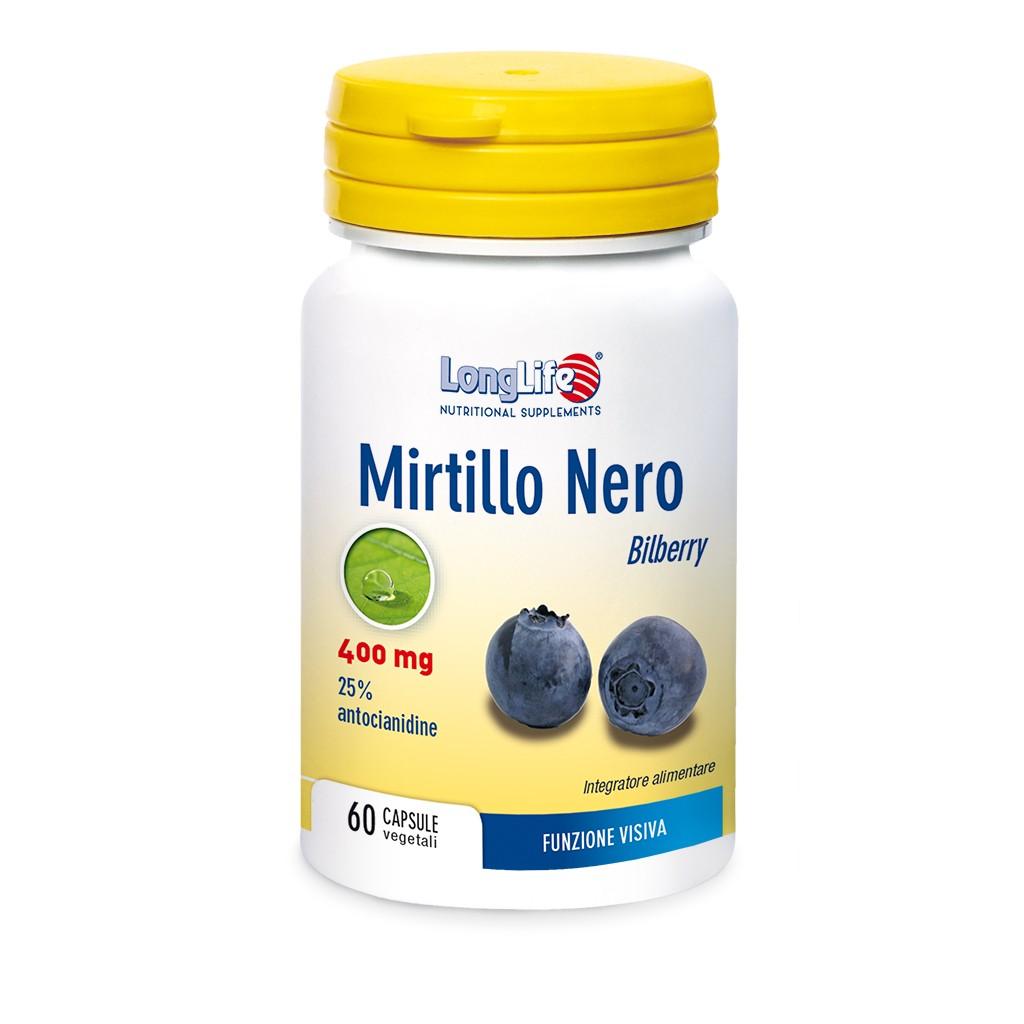 MIRTILLO NERO 25% 50 CAPSULE