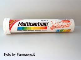 MULTICENTRUM 20 COMPRESSE EFFERVESCENTI
