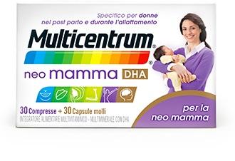MULTICENTRUM NEO MAMMA DHA 30 CP + 30 CPS