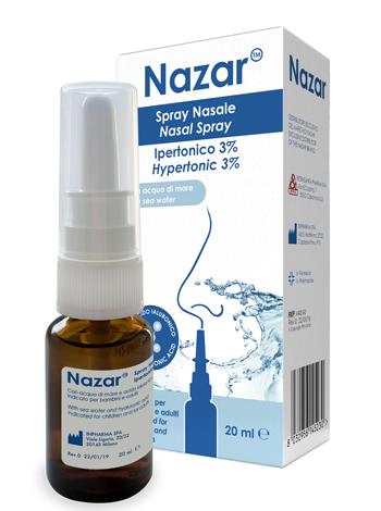 NAZAR SPRAY NASALE IPERTONICO 3% 20 ml