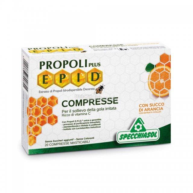 PROPOLI EPID 20 compresse con succo di arancia