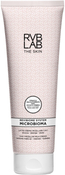 RVBLAB THE SKIN MICROBIOMA LATTE CREMA MICELLARE 3 IN 1 225 ml