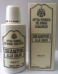SHAMPOO ALLO ZOLFO MONACI CAMALDOLESI 200ml