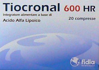 TRIOCRONAL 600 HR Integratore alimentare 20 cpr contro lo stress