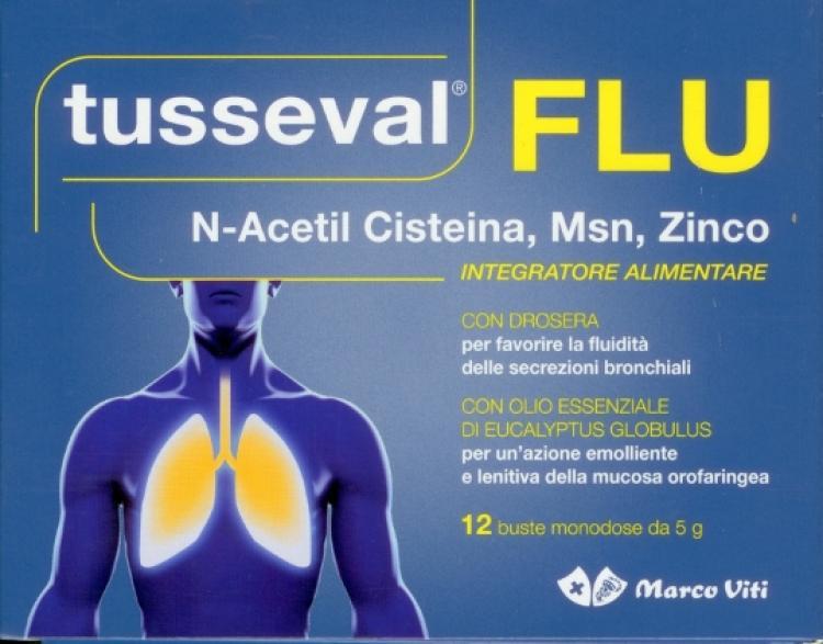 Tusseval FLU 12 buste monodose da 5 g