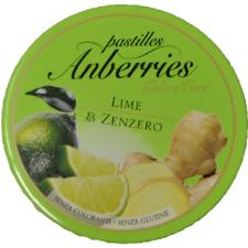 ANBERRIES LIME E ZENZERO