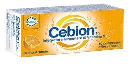 CEBION VIT C GUSTO ARANCIA 10 CPR EFF