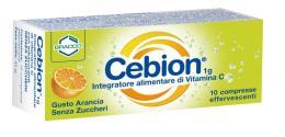 CEBION VIT C SENZA ZUCCHERI GUSTO ARANCIA 10 CPR EFF