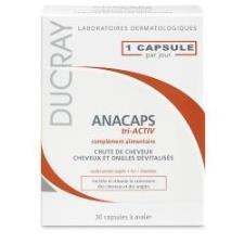DUCRAY ANACAPS TRI-ACTIV capelli  30 cps