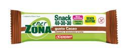 ENERZONA SNACK 40-30-30 barrette cacao 1 pz