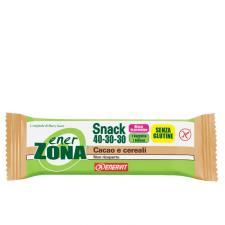 ENERZONA SNACK 40-30-30 barrette cacao e cereali 30 pz