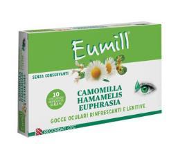 EUMILL CAMOMILLA AMAMELIDE EUPHRASIA 20 contenitori monodose