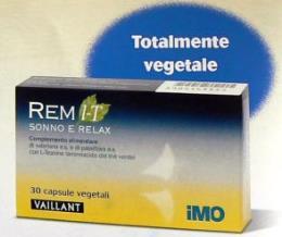 INTEGRATORE REM L-T sonno e relax 30 cps anti-insonnia