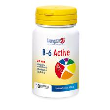 LONGLIFE B-6 ACTIVE 20 mg 100CPR