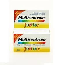 MULTICENTRUM JUNIOR 30 COMPRESSE