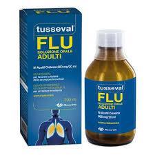 Tusseval FLU soluzione orale ADULTI 200ml