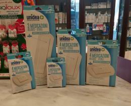 UNIDEA 4 MEDICAZIONI DELICATE STERILI 7,5x10