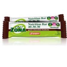 ENERZONA NUTRITION BAR 40-30-30 Cioccolato fondente 30 pz